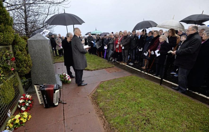 Teebane bombing remembered 25 years on