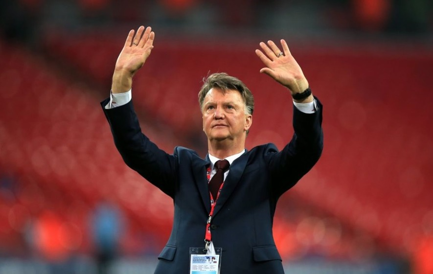 Louis van Gaal retired from coaching and everybody suddenly remembered what a great career he'd had