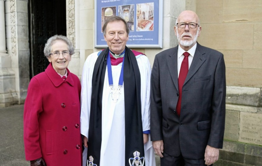 Historic installation of lay canons in St Anne's Cathedral