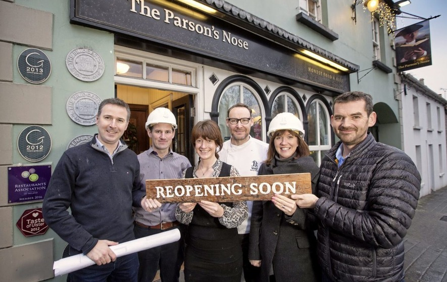 Winter refurbishment on the menu for Parson's Nose