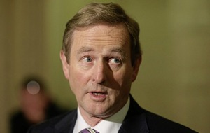 Theresa May agrees with Enda Kenny there will be no return to 'border of the past' for Northern Ireland