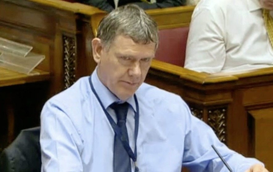 LIVE: Andrew McCormick appears before the economy committee to discuss RHI