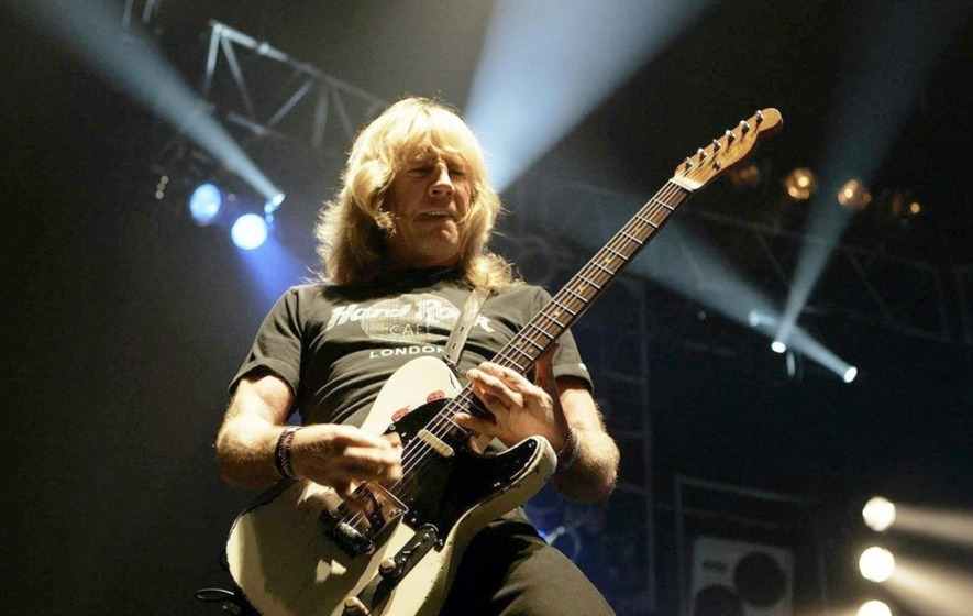 Status Quo's Rick Parfitt funeral to be held today
