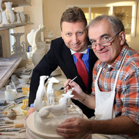 Belleek Pottery marks 160th anniversary with launch of special archive collection