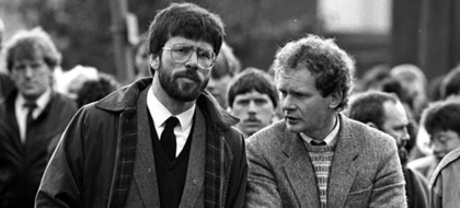 Martin McGuinness: His career in pictures