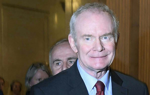 Sinn Féin's Martin McGuinness stands down from electoral politics