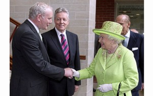 Historic moment Martin McGuinness shook hands with Queen Elizabeth