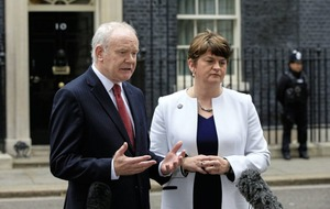 McGuinness: DUP vetoed plan for Stormont leaders to watch both Irish teams at Euros