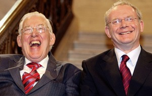 Ian Paisley jnr thanks Martin McGuinness for 'saving lives'
