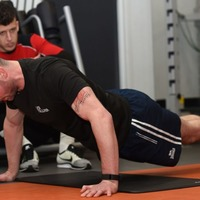 Watch: Man attempts world record for most press-ups done in an hour, all in the name of charity