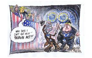 Trump tribute act