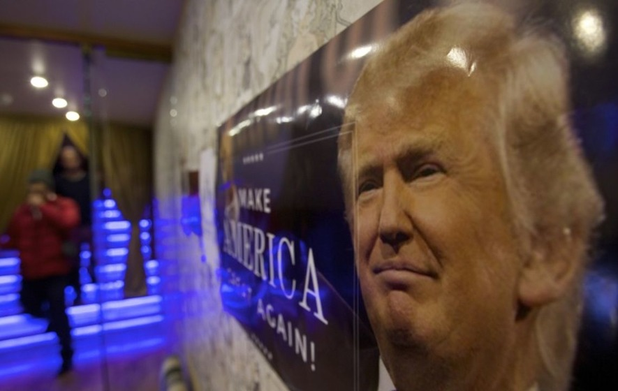 Check out the early inauguration party this Russian nightclub threw for Trump