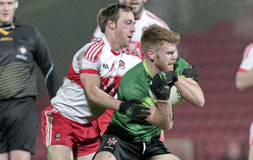 GAA gaining ground on soccer in Derry City says Steelstown's Neil Forrester