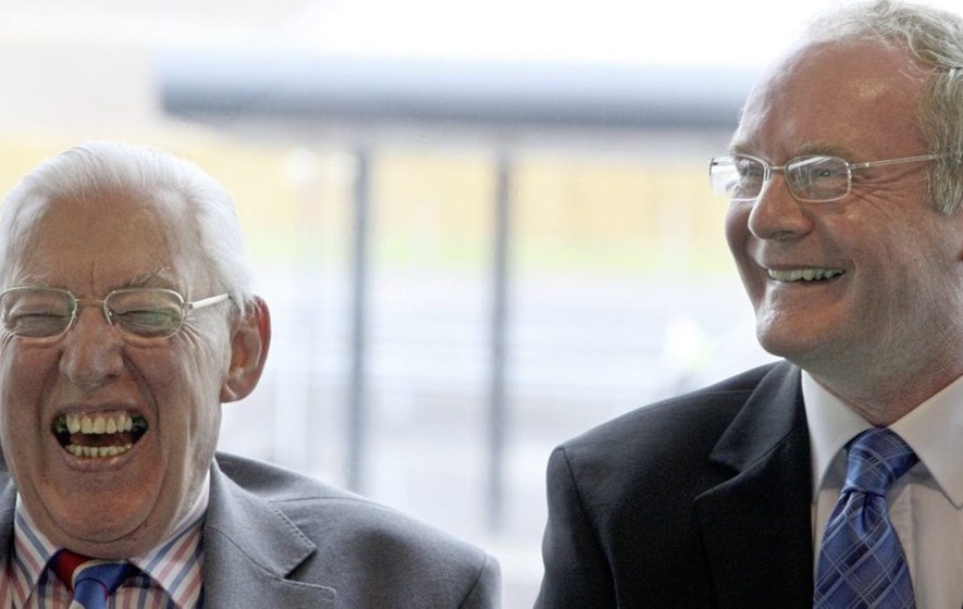 How Martin McGuinness and Ian Paisley forged an unlikely friendship