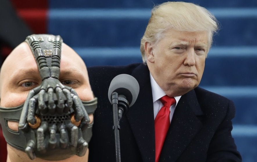 Watch Trump channel supervillain Bane from the Dark Knight Rises