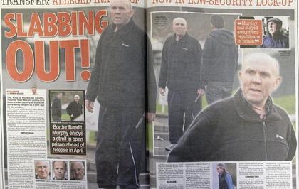 f3c4584724de2 Alleged former IRA leader Thomas  Slab  Murphy enjoys stroll in prison just  miles from border
