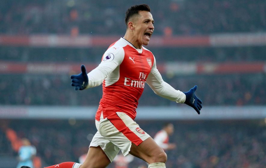 Arsenal up to second after late Alexis Sanchez penalty denies Burnley a point