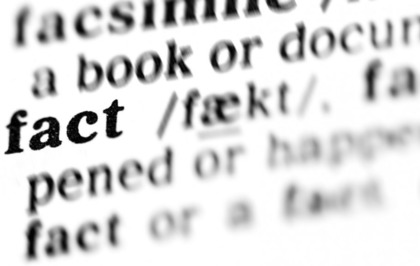The Merriam-Webster dictionary is having to tell people what a fact