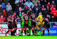 Ryan Catney horror injury overshadows Crusaders and Cliftonville derby