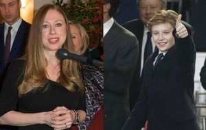 Chelsea Clinton defends Barron Trump and criticises Donald