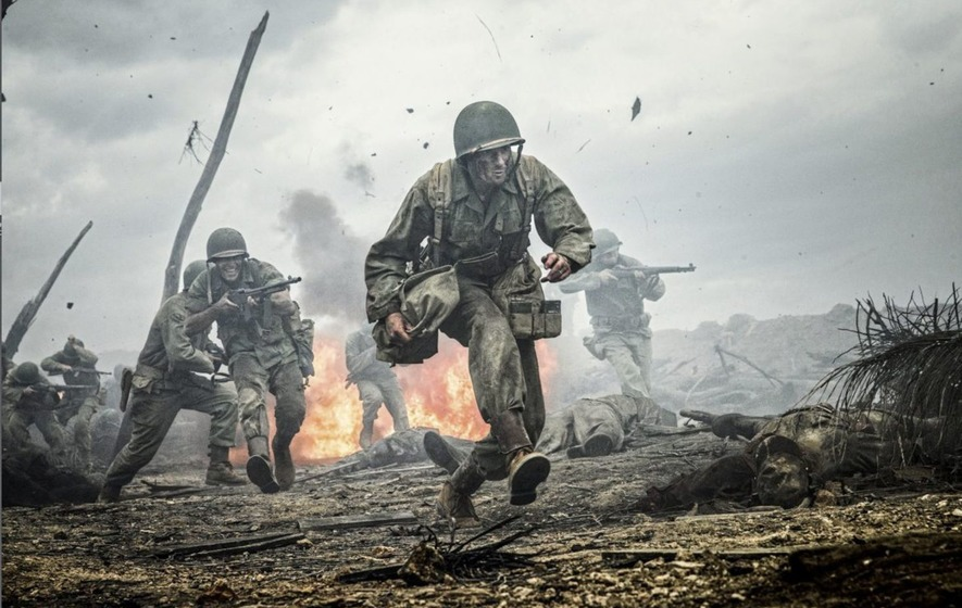Mel Gibson 39 S Second World War Movie Hacksaw Ridge Is A Cut