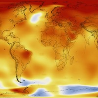 Video: Nasa's time-lapse video shows how global temperatures have risen over the last 130 years