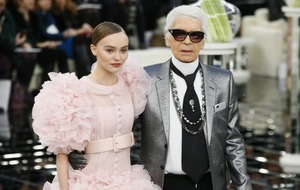 Johnny Depp's daughter Lily-Rose steals the show at Chanel event