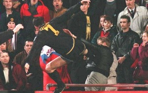 On this Day - January 25 1995: Manchester United striker Eric Cantona kung-fu kicked a fan
