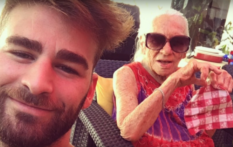 'The grandson she never had': Norma, 89, moves in with Hollywood actor and neighbour Chris, 31