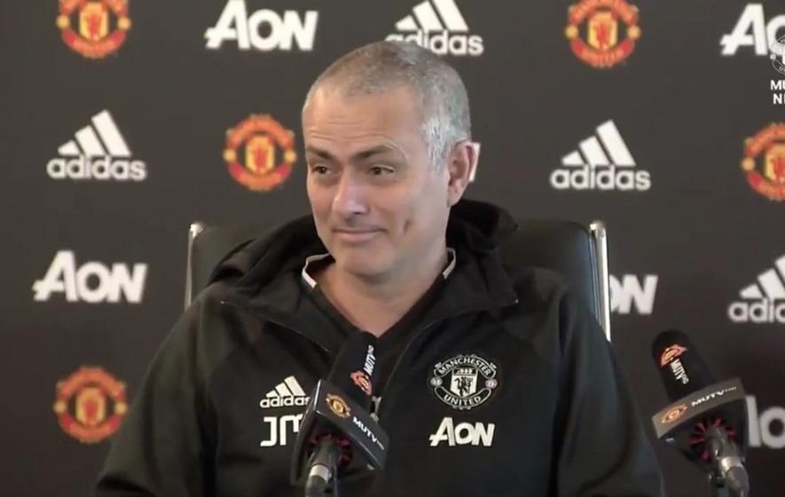 Weve Not Seen Jose Mourinho As Happy As He Was When Teasing
