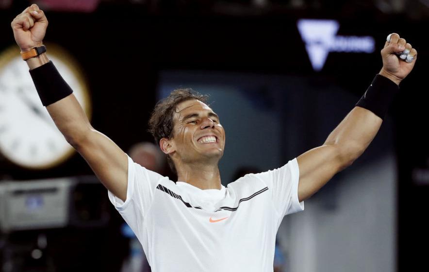 Rafael Nadal reaches Australian Open semi-final
