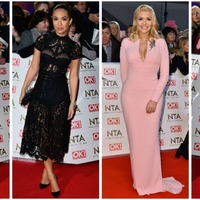 And the best-dressed stars at the National Television Awards are...
