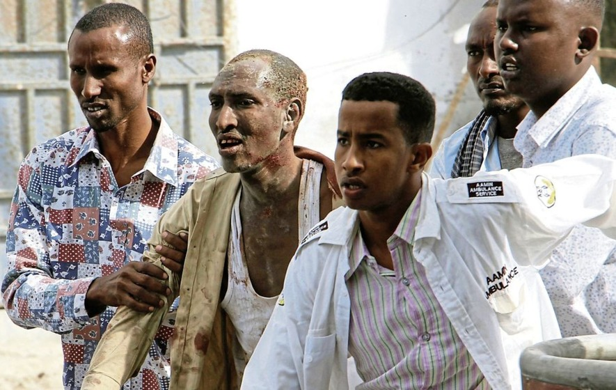 At least eight dead after Al-Qaida-linked extremists storm Somali hotel
