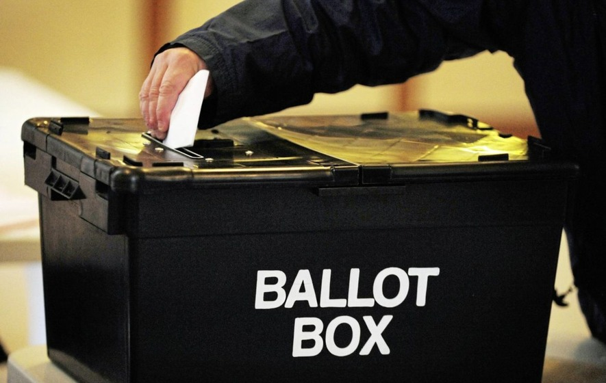People living outside UK cannot vote in Assembly elections