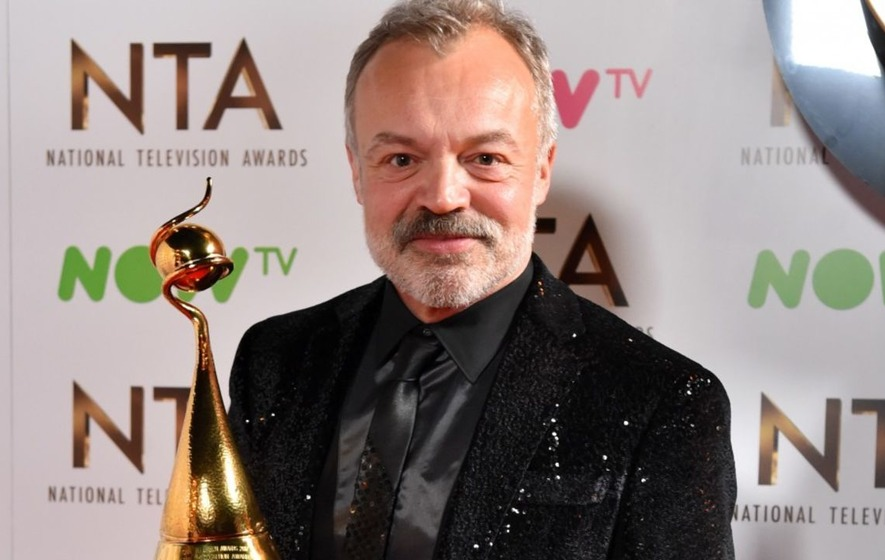 Stars line up to pay tribute to Graham Norton as he scoops special NTAs prize