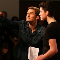 Orlando Bloom inspires young acting hopefuls at launch of trust