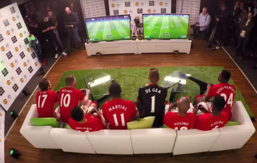 Paul Pogba scored an outrageous winner with a pretty unlikely player in Manchester United's Fifa 17 tournament