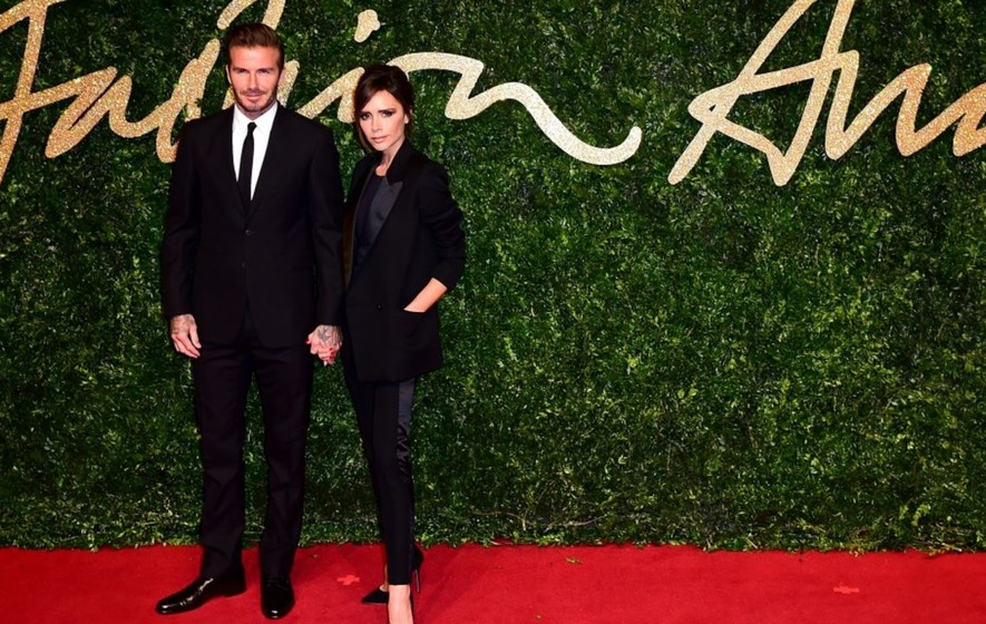 Posh and Becks used to date in a Harvester car park