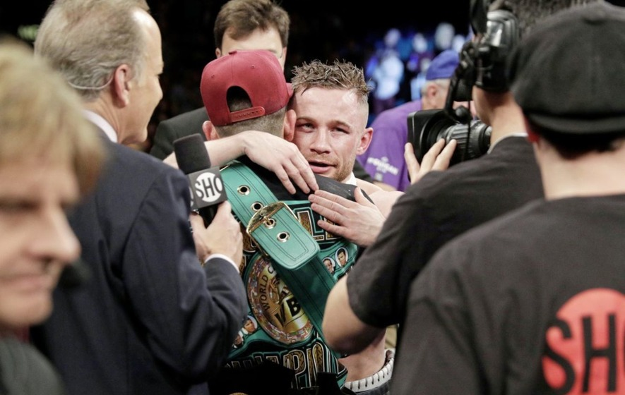 Carl Frampton and Leo Santa Cruz's bromance rumbles on