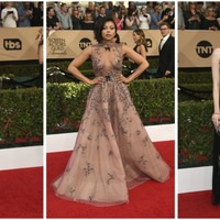 Who was the best dressed on the SAG Awards red carpet?