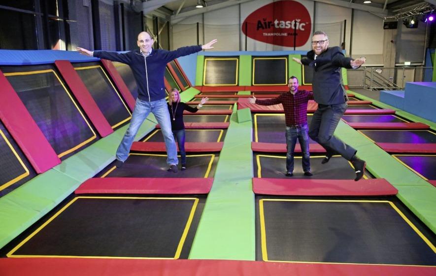 Jobs bounce for Bangor as Air-tastic opens trampoline park