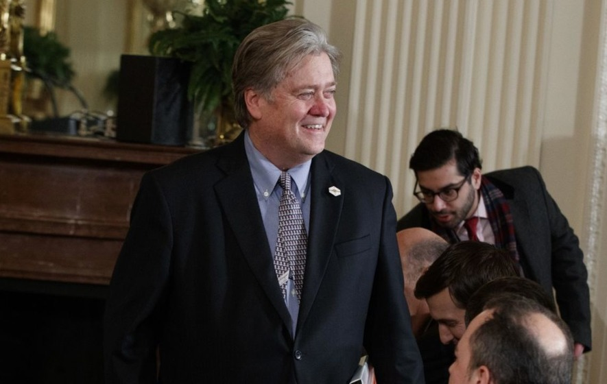 #StopPresidentBannon is the hashtag taking down Donald Trump's right-hand man
