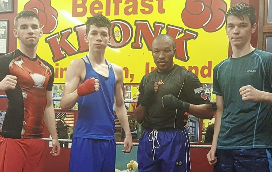 Have gloves, will travel - Stephen McKenna wants to fill Michael Conlan's bantamweight boots