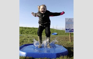 Outdoors: Puddle jumping and walking on Rathlin Island