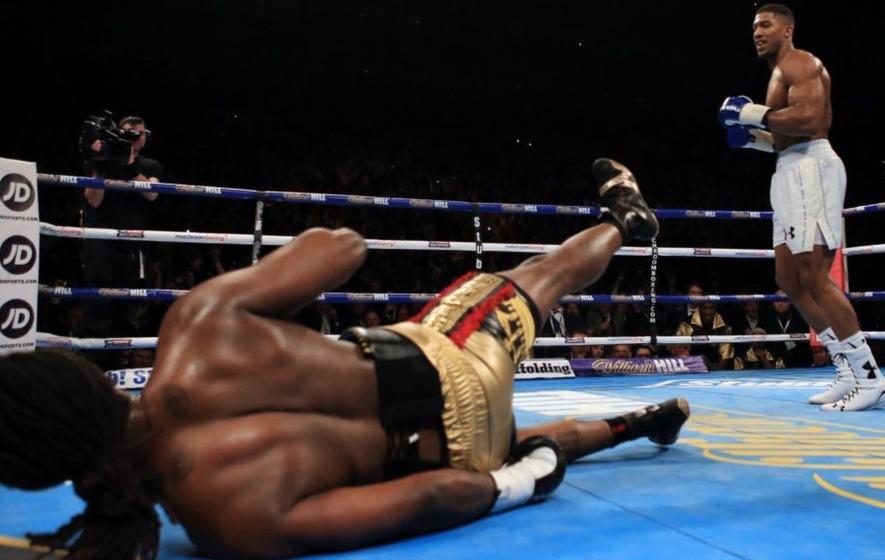 American media has described Anthony Joshua as 'the next Muhammad Ali'