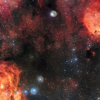 You need to see this incredible ESO image of the Cat's Paw and Lobster Nebula