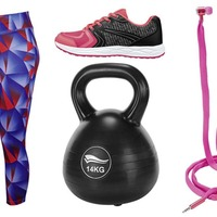Netting a Bargain: We can work it out... how to save on gym gear