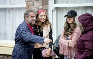 Rosie's return: Helen Flanagan back on Corrie