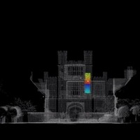 Laser scanning has revealed a secret room in walls of a house involved in the Gunpowder Plot