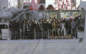 EU leaders insist action plan to stem flow of smuggled migrants from Libya will save lives